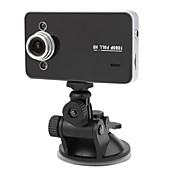 1080P 2.7 Inch Display Car DVR with Night Vision, Motion Detection