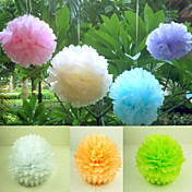 Paper Flower Decorations - Set of 4 (More Colors,More Sizes)