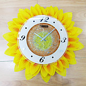 Country Sunflower Wall Clock 17