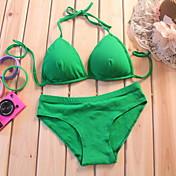 Lady No Wire Bikini Bra Set