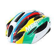 MERIDA-EPS MTB Cycling Unibody Helmet with Sunvisor (15 Vents)