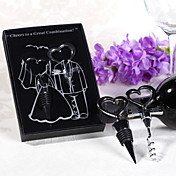 Two Hearts Wine Favor Set