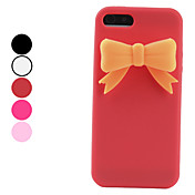 Bowknot Design Soft Case for iPhone 5 (Assorted Colors)