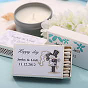 Personalized Matchboxes - Bride & Groom (Set of 12)