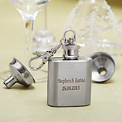 Personalized Stainless Steel 1-oz Flask