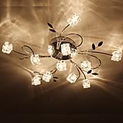 Artistic Aluminum Flush Mount Lights With 11 Lights