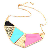 Fashion Colorful Alloy Women's Necklace