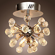 K9 Crystal Chandelier with 6 Lights in Globe Shape