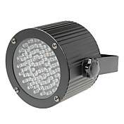 12W AB-1008 Stage Light with 56 5mm LEDs(R:40 G:18 B:18)