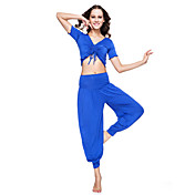 Women Dance Wear Mercerized Cotton Belly Outfit More Colors Available