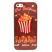 Popcorn Pattern Hard Case for iPhone 5