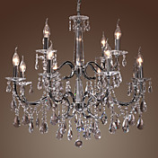 Moddern Crystal Chandelier with 12 Lights
