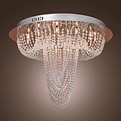 Crystal Chandelier with 18 lights (Chrome Finish)