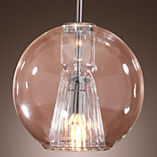 Elegant Pendant Light in Soap Bubble Featured Shade