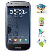 Triton - Android 4.1 Dual Core CPU Smartphone with 4.6 Inch Capacitive Touchscreen (Dual SIM, GPS, 3G,WiFi)