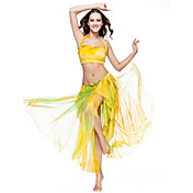 Dancewear Polyester With Dye Belly Skirt for Ladies More Colors