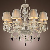 8-light The style of palace Glass Chandelier