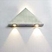 3W Triangle Designed Aluminum LED Wall Light