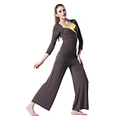 Japannes Cotton Skin-Friendly Brown Half Sleeve Sports Yoga Suit