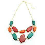 Women's Vintage Contrast Color Necklace(Length:40+5CM)