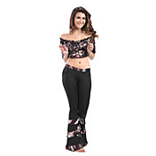 Dancewear Viscose Belly Dance Practice Outfits For Ladies More Colors