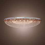 Modern Crystal Flush Mount with 24 Light