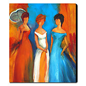 Hand Painted Oil Painting People 1211-PE0170
