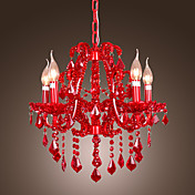 Candle Crystal Chandelier with 5 lights