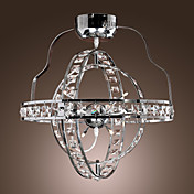 Electrochromism Finish Crystal Chandelier with 4 lights - Sphere Design