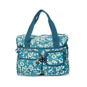 Women's Multi-color Print Satchel(38*11*27CM)