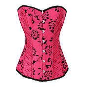 Spandex  Strapless Front Busk Closure Special Occasion Corsets