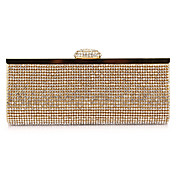 Unique Polyester with Crystals Evening Handbag/Clutches(More Colors)