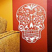 Removable Skull Nature Wall Stickers