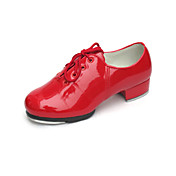 Patent Leather Upper Tap Shoes Dance Shoes for Women/Kids Tap Included