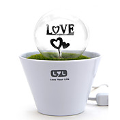 Romantic Grass Night Light for Sleep(Heart)