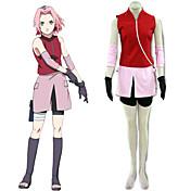 Naruto Shippuden Sakura Haruno Cosplay Costume