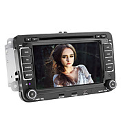 7-inch 2 Din TFT Screen In-Dash Car DVD Player For Volkswagen With Canbus,Bluetooth,Navigation-Read GPS,iPod-Input,RDS,TV