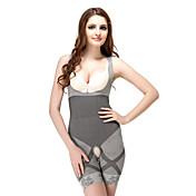 Patterned Open Bust Shaping Bodysuit