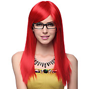 Capless High Quality Synthetic Long Straight Hair Wigs 3 Colors to Choose