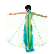 Performance Dancewear Colorful Polyester Belly Dance Veil