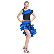 Dancewear Satin/Spandex Performance Latin Dance Outfit for Ladies