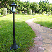 Solar White Light Garden Path LED Lamp with High Stand