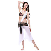 Dancewear Tulle Belly Dance Outfits Top and Bottom For Ladies More Colors