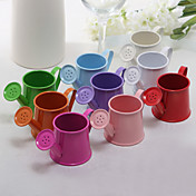 Lovely Metal Watering Can Favor Holder - Set of 12 (More Colors)