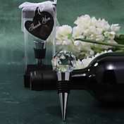 Crystal Ball Wine Stopper