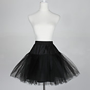 Nylon A-Line Half 5 Tier Short-Length Slip Style/Wedding Petticoats