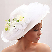 Beautiful Organza/Satin Forging Wedding Bride Hat
