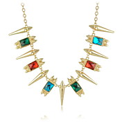 Nice Crystal With Alloy Women's Necklaces