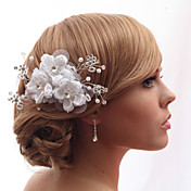 Beautiful Satin With Crystal Wedding/Bride Headdress Flower