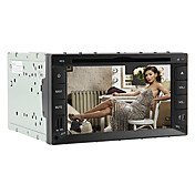 6.2-inch 2 Din TFT Screen In-Dash Car DVD Player With Bluetooth,RDS,TV,Navigation-Read GPS,iPod-Input
